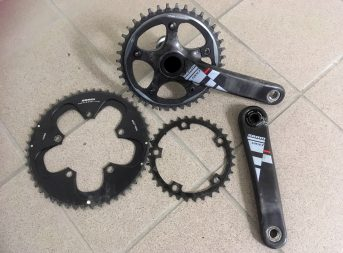 RYDDESALG av sykkeldeler, dekk, hjulsett, pedaler, krank, kjede, Garmin, sykkesko, bekledning og mm!