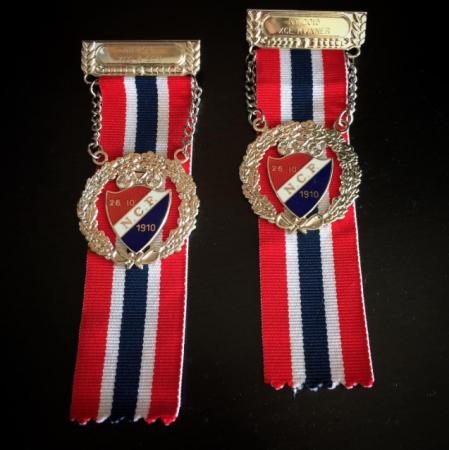 To sølvmedlajer i NM var kult!